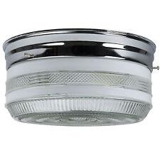 """Sunlite accesorio de techo de cocina KIT10/CH 10"""" Acabado Cromado con tambor semi-esmerilado"""