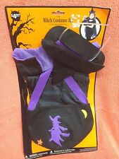 Halloween Childs Witch Costume Kit 3T-4T  New