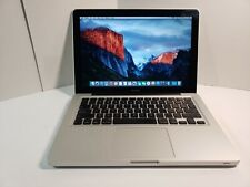 "Apple MacBook 13"" Intel Core 2 Duo 2.00GHz, 8GB RAM, 120GB SSD, El Capitan"