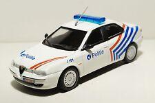 Alfa Romeo 156 Police of Belgium scale 1 43 DeAgostini Diecast model car