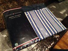 Tommy Hilfiger Insert Valance Blue White Striped Home Decor