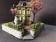 Halloween Village Display Base Platform For Dept 56 Or Lemax Spooky Town Village