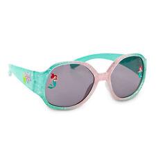 NEW Little Mermaid Princess ARIEL Glitter SUNGLASSES for Girls 100% UVA & UVB