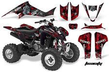 ATV Decal Graphic Kit Wrap For Suzuki LTZ400 Kawasaki KFX400 2003-2008 TOXIC R K