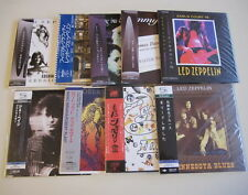 Led Zeppelin + Page + Plant 10CD Set MINI LP III Physical Earl Court BBC Minneso