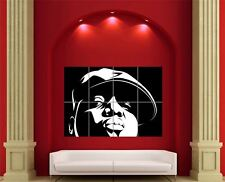 Biggie Notorious B.I.G. Rapper Giant Wall Art New Poster Print Picture