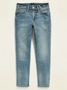 Old Navy X PS Kid Boys Karate Built-In Flex Max Slim Taper Jeans Size 16 Plus