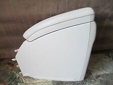 2011 TOYOTA PRIUS plastic Rear Console cup holder charger panels USB AUX tan OEM