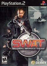 SWAT: Global Strike Team, Excellent PlayStation2, Playstation 2 Video Games