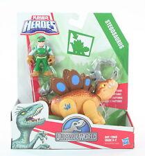 JURASSIC WORLD Playskool Tracker STEGOSAURUS dinosaur action figure toy - NEW!