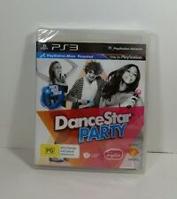 Playstation 3 PS3 Dance Star Party Game New Factory Sealed