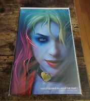 Harley Quinn Villain Of The Year #1 Exclusive Shannon Maer Minimal Trade Variant