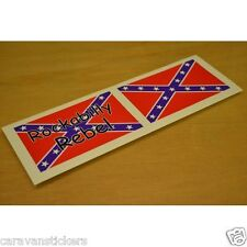Americana 'Rockabilly' Car Caravan Sticker Decal Graphic - PAIR
