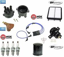 For Toyota Pickup 1994 22RE Ignition Tune Up Kit Cap & Rotor+Filters