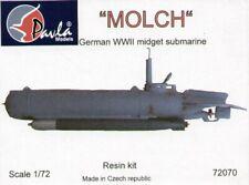 Pavla 1/72 Molch German WWII Midget Submarine # 72070