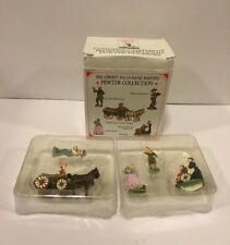 Liberty Falls 1999 Pewter Miniatures Set Of 5 Accessories Ah195 Dr. Randall Aver