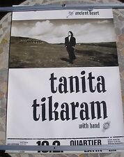 TANITA TIKARAM Ancient Heart Tour 1988 tour poster 33 x 23  original