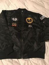 Wu-Tang /Wu Wear Patches Bomber Jacket Extremely Rare. JAPAN