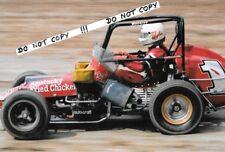 Fotografía 9x6, ricos Vogler 1950 ~ 1990 legndary Sprint Coche/Indy 500 Driver 1980