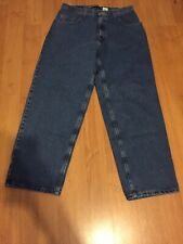 Vintage Levis Silvertab Baggy Mens Jeans 34x32 Made In USA Denim 90'S Dungarees