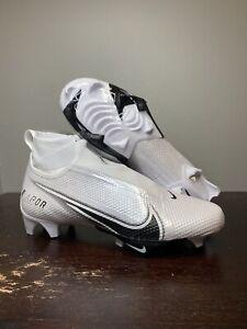 Size 8.5 - NIKE VAPOR EDGE PRO 360 WHITE MENS FOOTBALL CLEATS SHOES AO8277-100