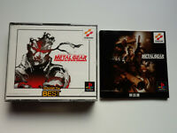 METAL GEAR SOLID INTEGRAL Sony Playstation PS1 JAPAN