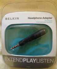 Belkin Headphone Earphone Adapter for iPhone - Connect any Headset NEW & SEALED