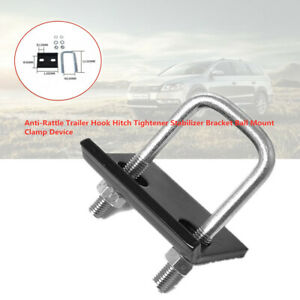 Anti-Rattle Trailer Hook Hitch Tightener Stabilizer Holder Mount Clamp Device
