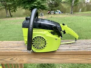 VIDEO - Poulan 245A Chainsaw Power Head Very Nice Low Hours Restored Running TCM