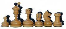 "Reproduction Vintage 1930 German Knubbel 3.5"" Chess Pieces"