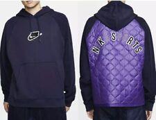 Mens Nike Sportswear NSW Fleece Pullover Hoodie BV4601-498 Size Medium Purple