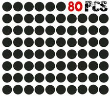 50mm 80pcs/lot Round Plastic bases for gaming miniatures & table games Figures