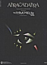 ABRACADABRA Music Sheet-1982-STEVE MILLER BAND