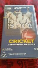 CONNOISSEUR SERIES CRICKET THE MODERN MASTERS VHS VIDEO