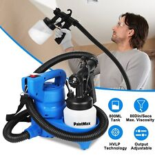Electric Paint Painting Sprayer Gun 650W 3-ways W/Copper Nozzle+Cooling Sys
