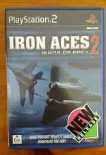 Iron Aces 2 - BIRDS OF PREY - PS2 PLAYSTATION 2 PAL