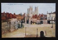 YORK Bootham Bar - Vintage Colour Photochrom Celesque Series Postcard - Unused