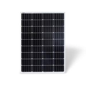 100W 12V Monokristallin Solarmodul Photovoltaik Solarpanel Wohnmobil 100Watt
