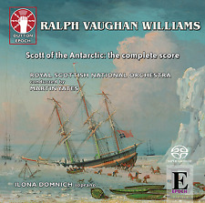 Ralph Vaughan Williams: Scott of the Antarctic – complete film score - CDLX7340