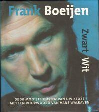 FRANK BOEIJEN Zwart Wit 50 TEKSTEN 2004 LYRICS BOOKLET Suzanne Leonard Cohen ao