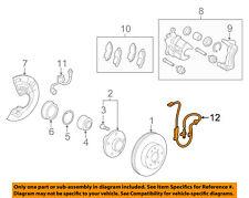 TOYOTA OEM ABS Anti-lock Brakes-Front Speed Sensor 8954306120