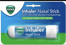 Vicks - Inhaler Nasal Stick - Fast Relief From Stuffy Noses - Menthol Camphor