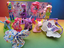 MY LITTLE PONY - EQUESTRIA GIRLS  COMPLETE SET MAGIC KINDER SURPRISE