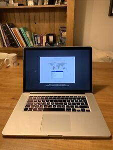 """MacBook pro 15-inch """"core i7"""" 2.0 Late 2014"""