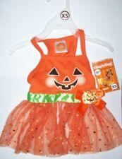 Simply Dog Girlie Pumpkin Tutu Dress Pet Dog Halloween costume NWT XXS XS S M