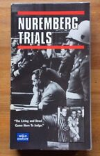 Nuremberg Trials - World in Conflict - Nazis On Trial Post WWII FREE DVD + VHS