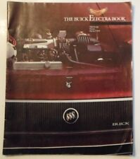 BUICK ELECTRA orig c1984 USA Mkt Large Format Sales Brochure - T Type Park Ave
