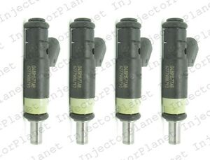 Set of 4 Siemens Deka fuel Injector 07-11 Chrysler Sebring 2.0L 2.4L 04891577AB