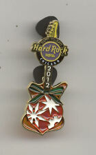 Hard Rock Cafe Chicago Hotel Christmas 2012 Stained Glass Guitar Pin