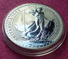 1998 ROYAL MINT BRITANNIA SILVER BU  TWO POUND COIN